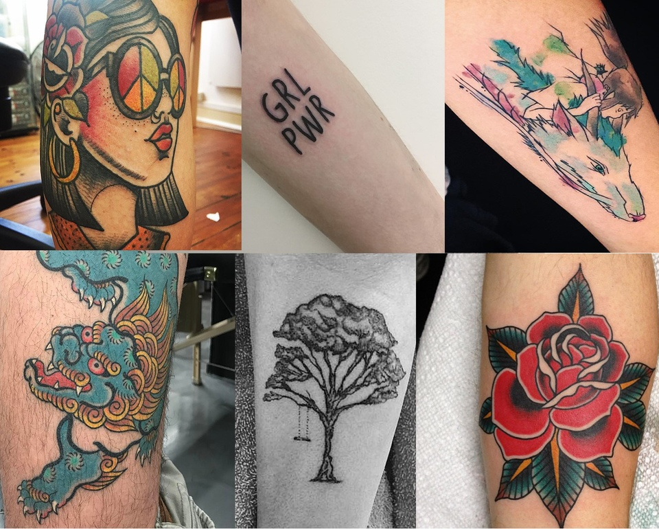 Tattoo Styles And Techniques. Part II
