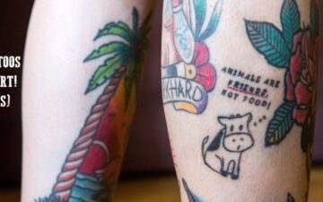 How to get inked and stay vegan